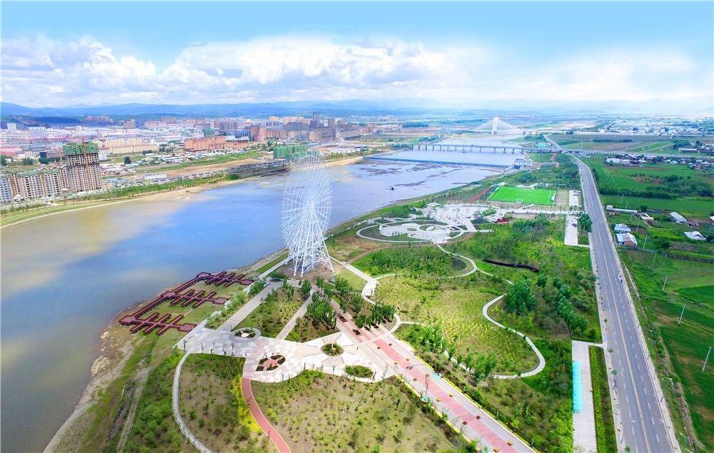 珲春连城山风景